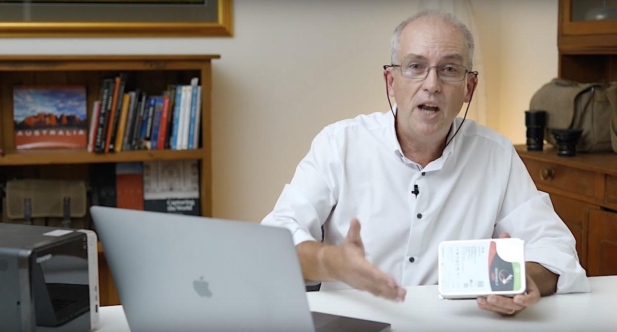 ベテラン写真家のニック・レインズ氏、NASのアップグレードについて語る