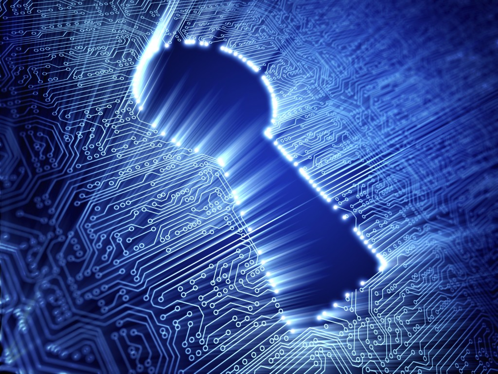 The key to simple data storage security