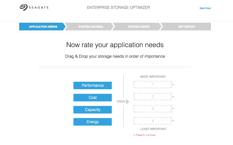 Seagate Enterprise Storage Optimizer