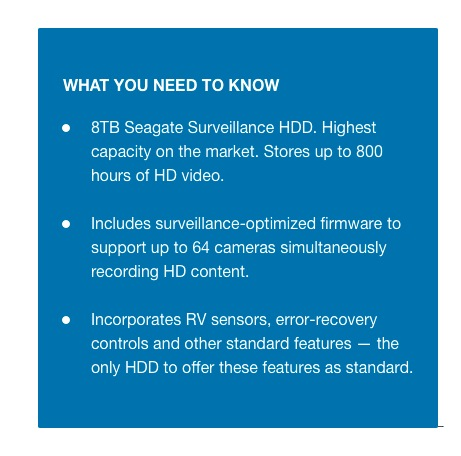 8TB Surveillance HDD - What You Need To Know