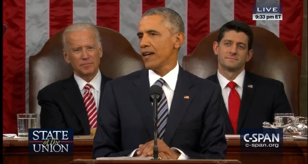 President Obama 2016 State of the Union