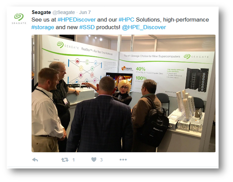 Seagate at HPEDiscover