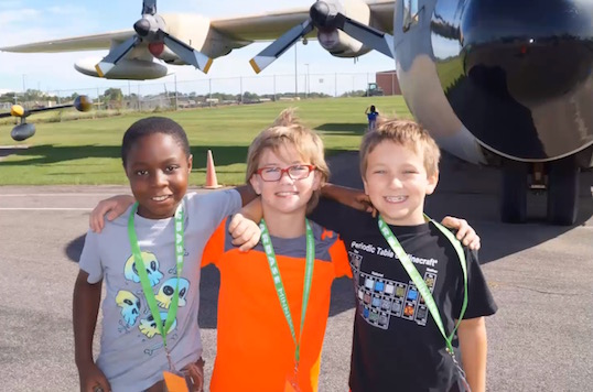 3 engineering prospects at the STARBASE camp