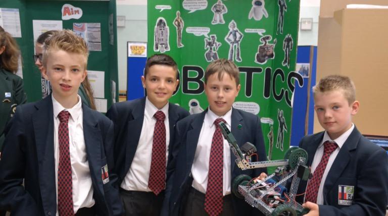 Robotics design team