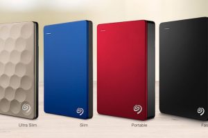 Seagate Backup Plus portable hard drives