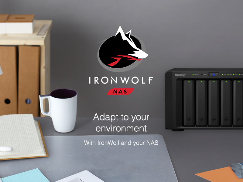 Seagate IronWolf — Adapt to Your Environment