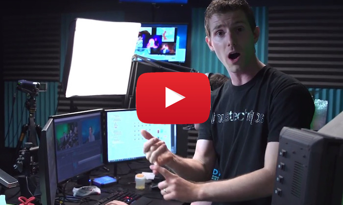 Linus Sebastian lists server benefits - video play