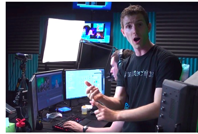Linus Sebastian ticks off the benefits of the new server