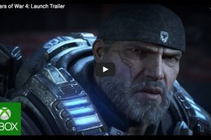 Gears of War 4 Xbox prizes