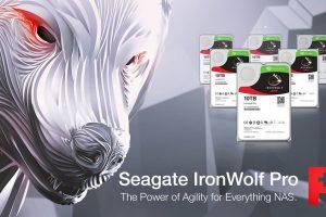 Seagate IronWolf Pro NAS hard drive