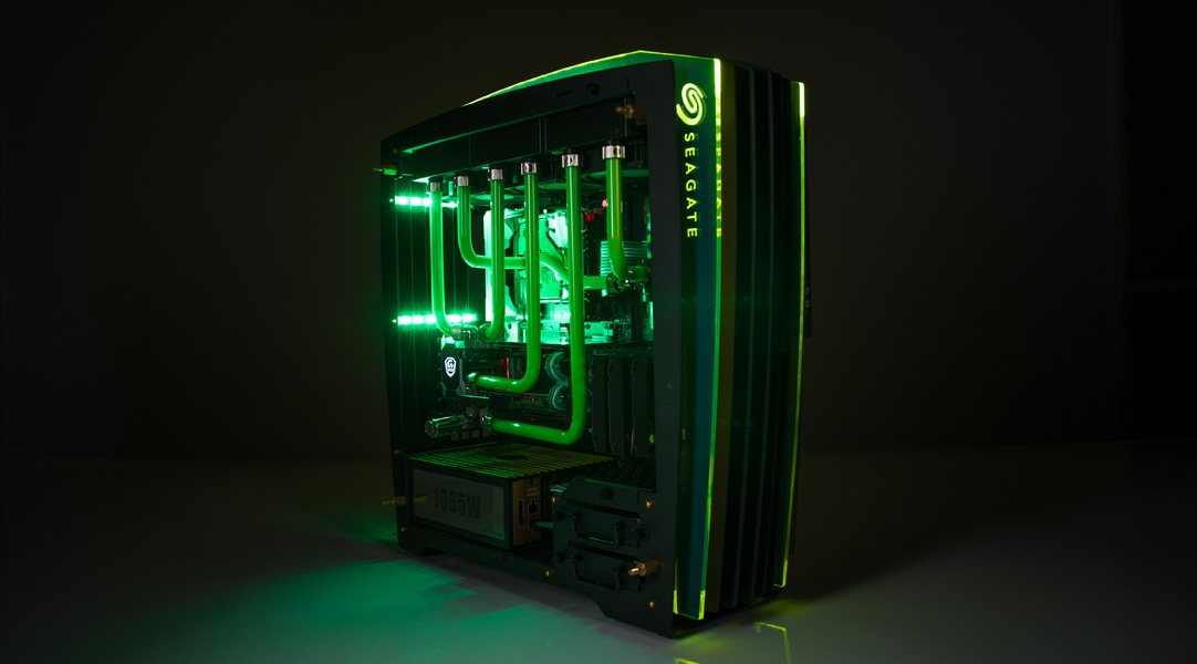 NCIX The Guardian extreme gaming PC build