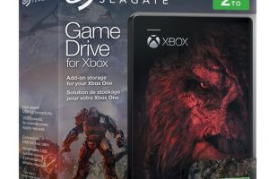 Seagate Game Drive for Xbox — Halo Wars 2 Special Edition