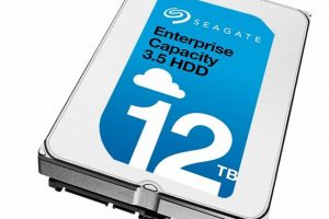 12TB Seagate Enterprise Capacity HDD