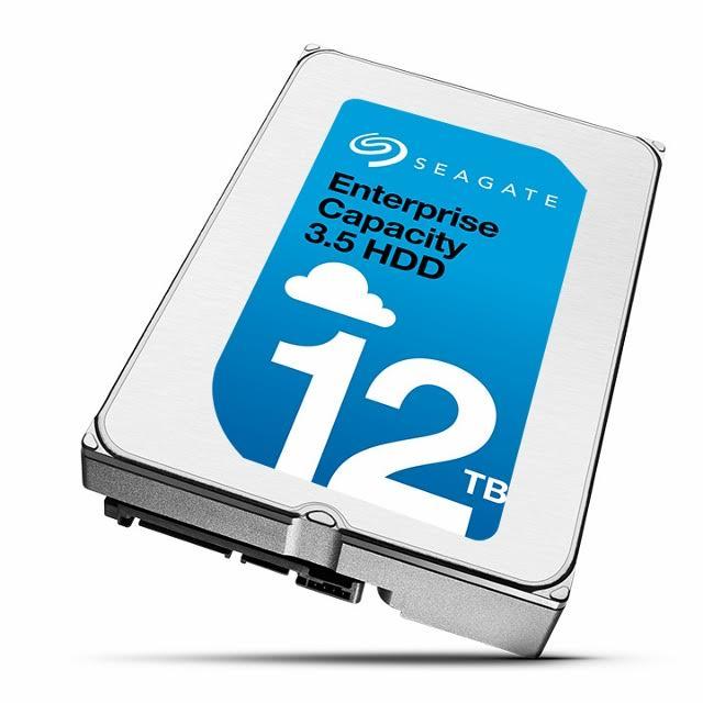 12TB Seagate Enterprise Capacity HDD