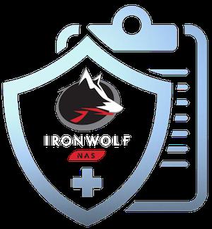 IronWolf Health Management badge