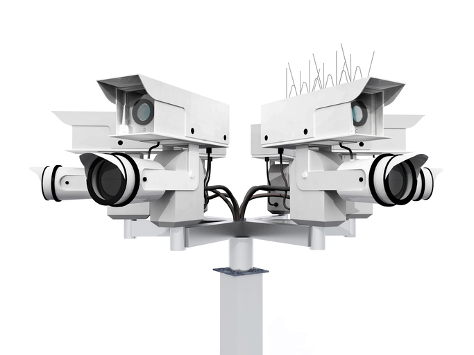 SkyHawk supports up to 64 security cameras
