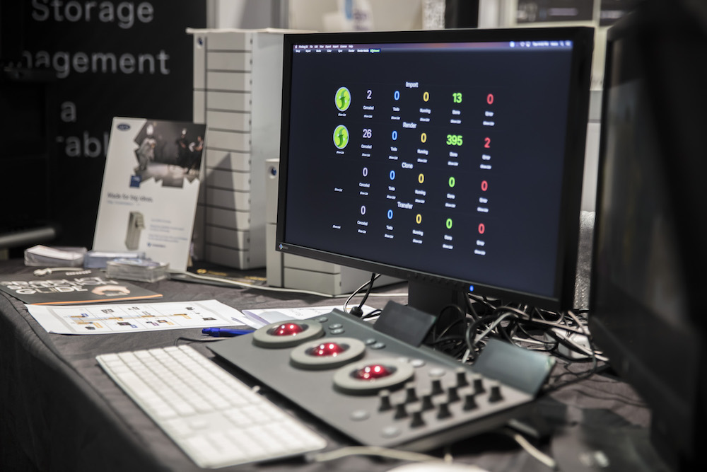 Maxx Digital professional post-production solutions shows off their latest tools — along with top-of-the-line creative storage solutions from LaCie