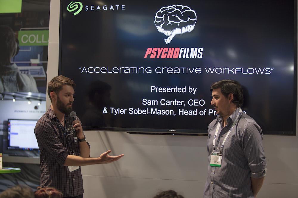 Speaker —Sam Canter and Tyler Sobel-Mason, Psycho Films