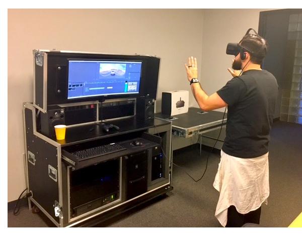 Hula Post VR control