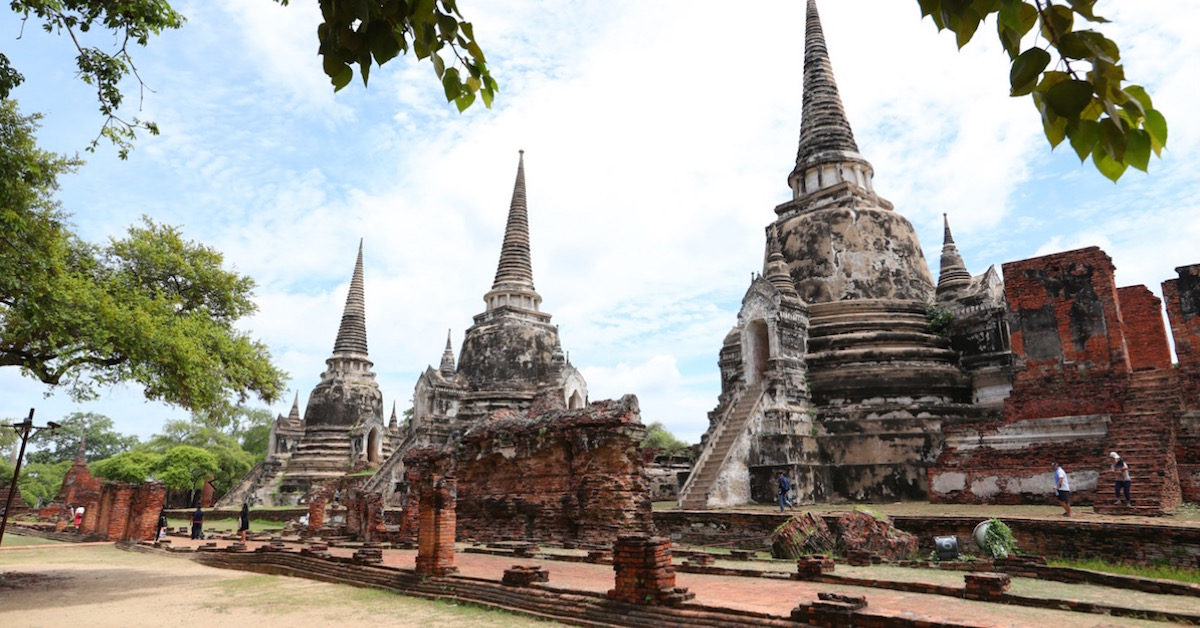 3D Data to Preserve Thailand's Historic Temple — Wat Phra Si San Phet 1