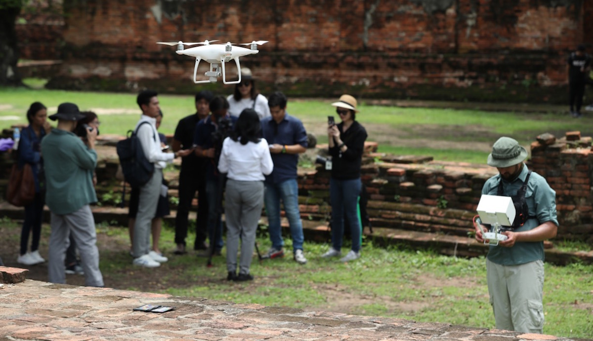3D Data to Preserve Thailand's Historic Temple — Wat Phra Si San Phet 3