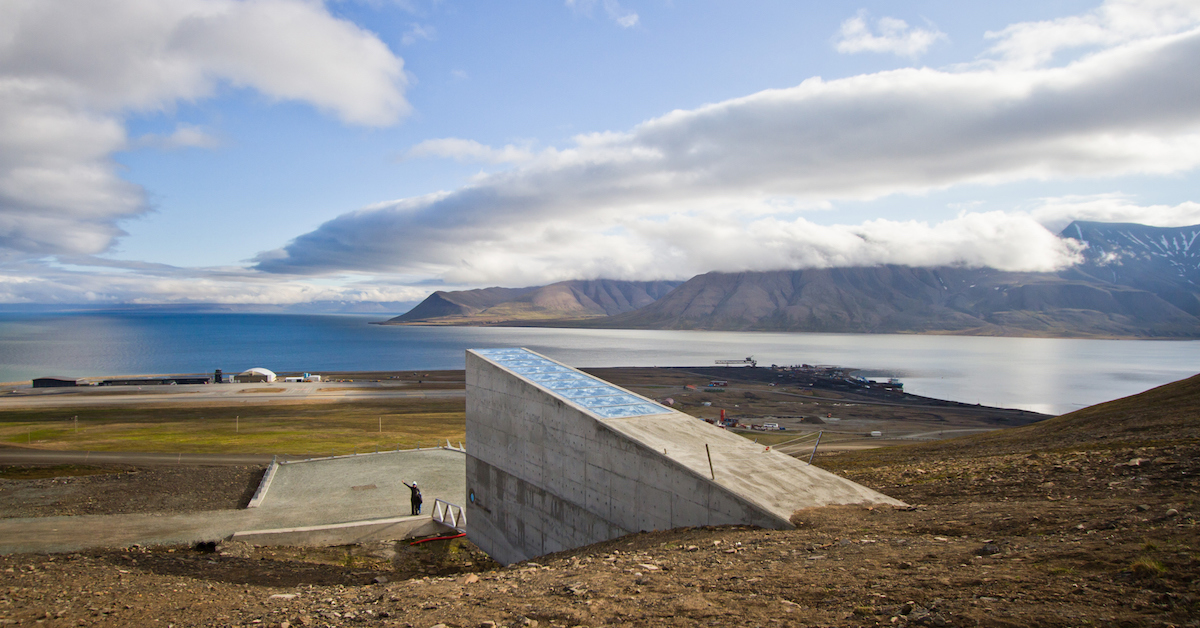 Arctic World Archive as a new adjunct to the Global Seed Vault in Svalbard Norway