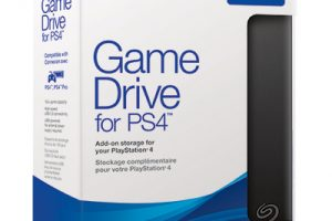 Seagate Game Drive for PS4 package