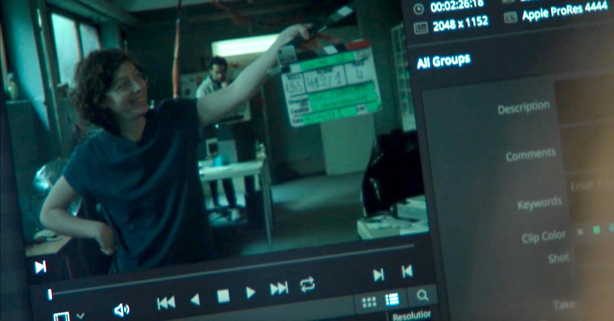 On the Set of Unite 42 Simon Moirot Protects Precious Footage