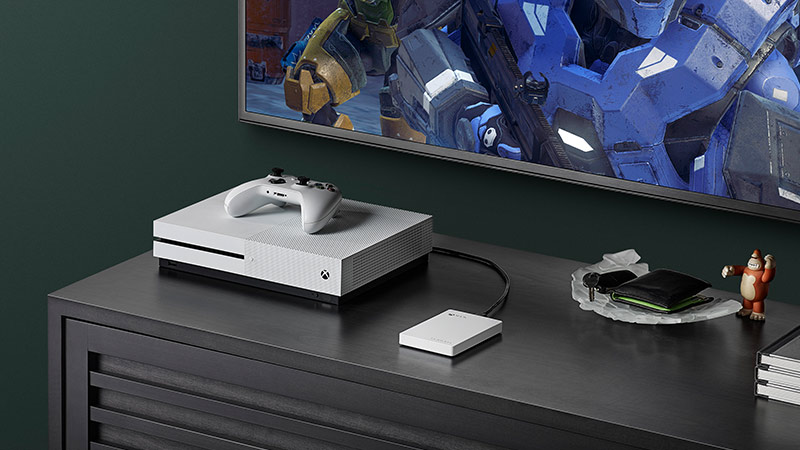 How to Easily Upgrade to Xbox One X, with Seagate Game Drive for
