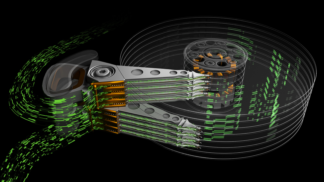 Seagate Multi Actuator technology conceptual illustration