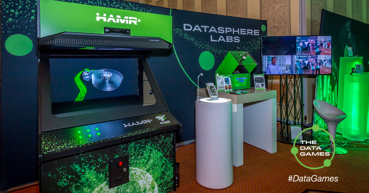 Datasphere Labs at the Seagate CES 2018 experience zone
