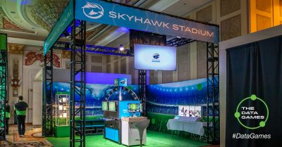 SkyHawk Stadium at the Seagate CES 2018 Experience Zone