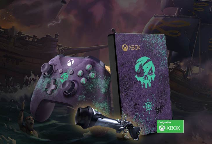 Seagate Sea of Thieves Game Drive for Xbox Special Edition