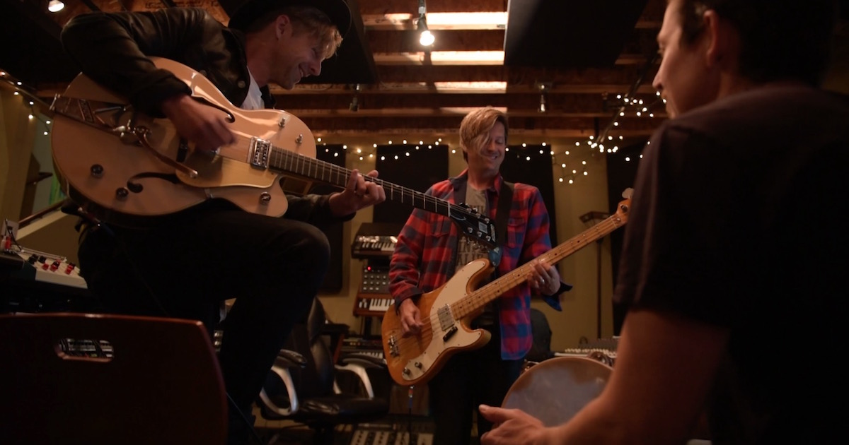 Switchfoot Studio jam