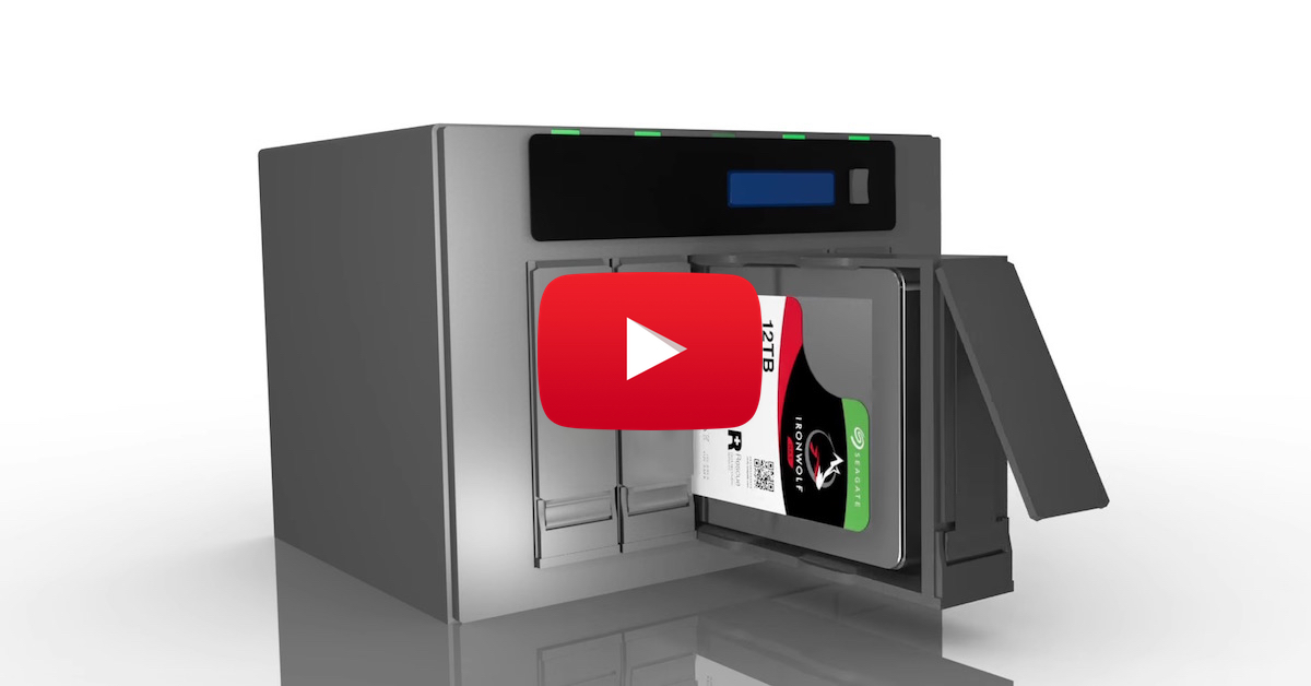 Video - IronWolf hard drives are specialized for NAS systems with AgileArray Technology