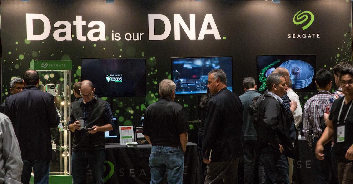 Los datos son nuestro ADN: el stand de Seagate en OCP 2018