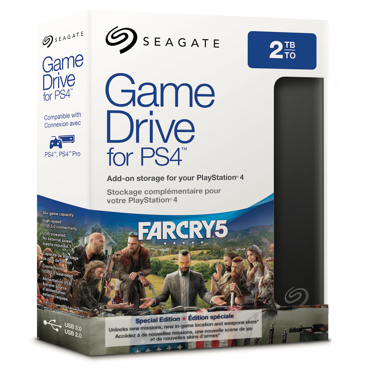 Seagate Game Drive for PS4 Far Cry 5 Special Edition