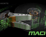 Seagate MACH.2 Multi Actuator technology conceptual illustration