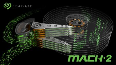 Seagate MACH.2 Multi Actuator technology conceptual illustration