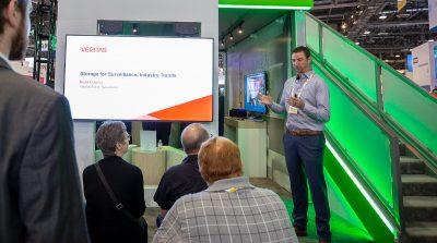 Brent Cowing Veritas Storage for Surveillance Industry Trends