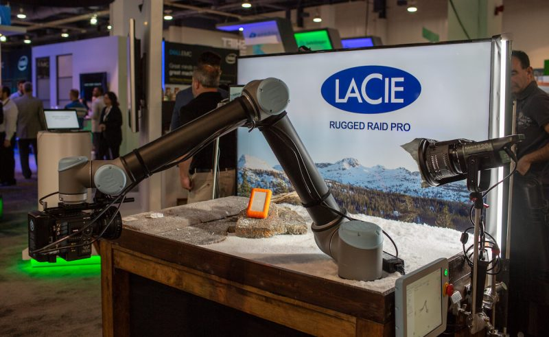 NAB 2018 Photo Video and Production Paradise with Seagate and LaCie 1