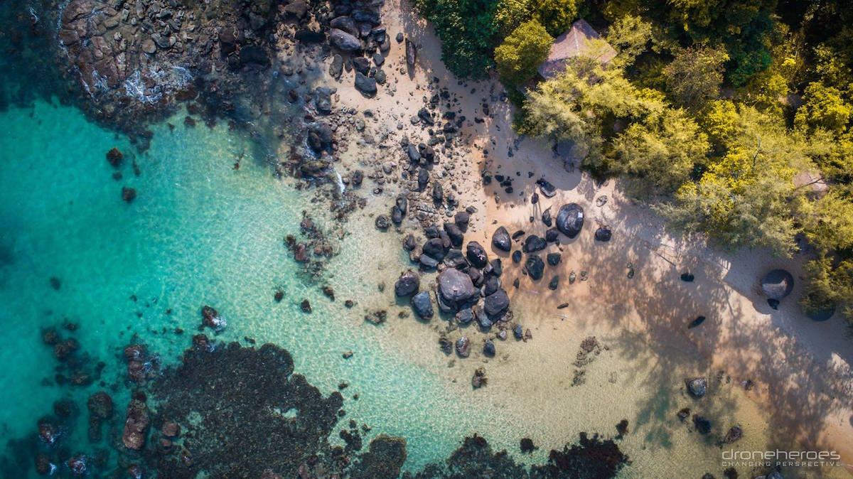 7 Tips to Take Your Travel Photography to a Higher Level from Drone Heroes 2 beach from sky