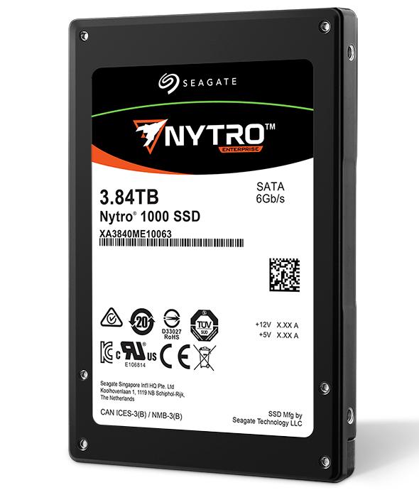 Seagate Launches Nytro 1000 SATA SSD Series with Unique