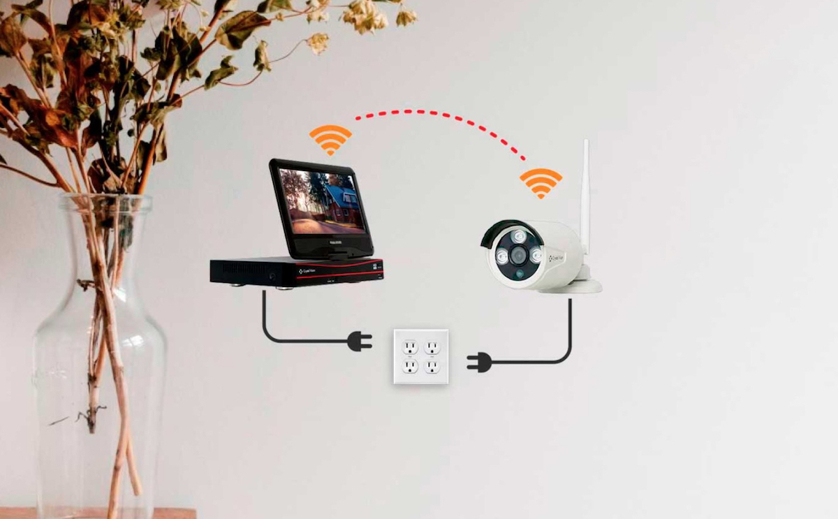 Crystal Vision designs plug-and-play surveillance