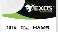 Seagate Exos HAMR 16TB internal test unit closeup