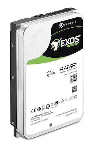 Seagate Exos HAMR hard drive