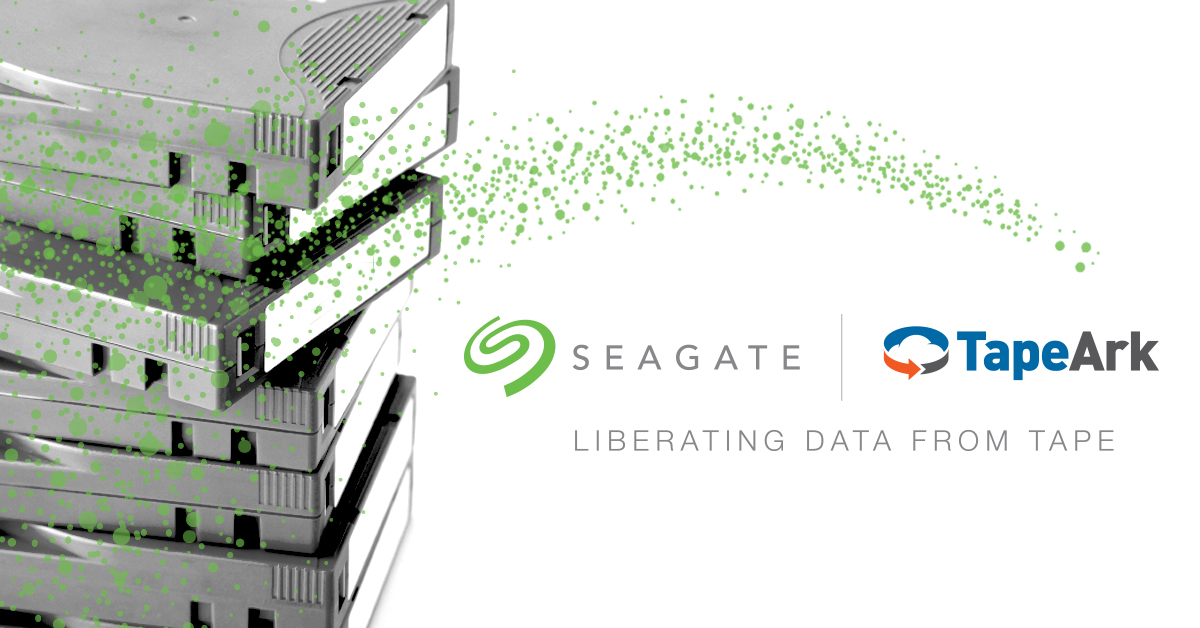 Seagate and Tape Ark Will Liberate Massive Cold Data Libraries for New AI and Analytics