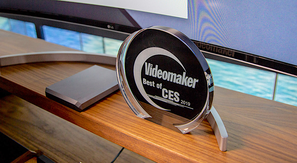 LaCie Mobile Drive won the Videomaker Best of CES 2019