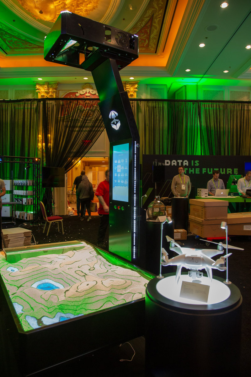 SkyHawk Rover Hero playing field at CES 2019