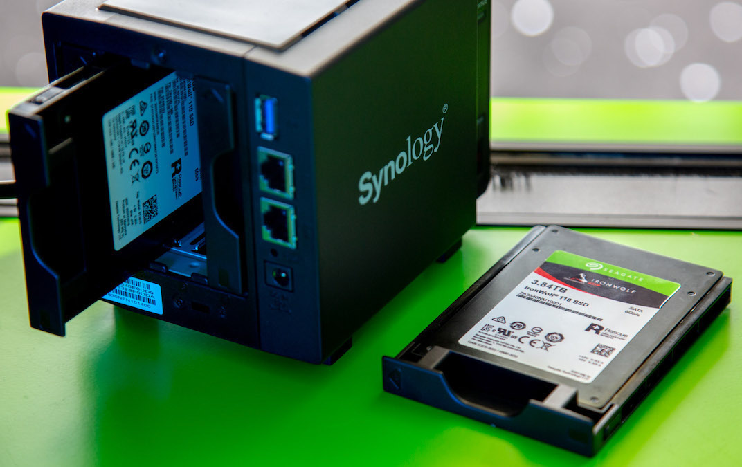 IronWolf 110 SSD Synology NAS